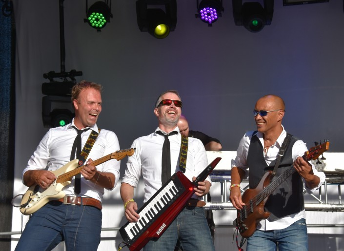 Coverband live Amersfoort Eemhaven festival
